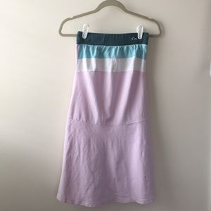 Lacoste Strapless Dress